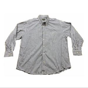 Orvis XXL Blue White Red Check Cotton Long Sleeve